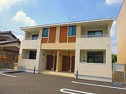 愛知県北名古屋市野崎正光寺丁目の賃貸アパートの外観