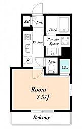 仮) 海楽2丁目D-ROOM計画[101号室]の間取り