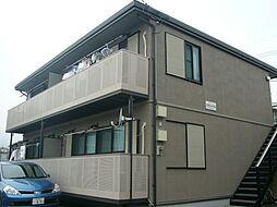 静岡県裾野市佐野の賃貸アパートの外観