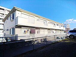 神奈川県横浜市港北区大豆戸町の賃貸アパートの外観