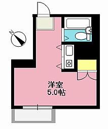 ファーストハイム[3階]の間取り