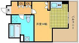 兵庫県神戸市垂水区名谷町1400の賃貸マンションの間取り