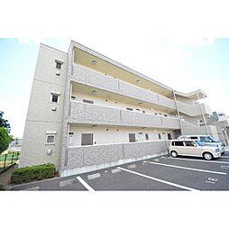 埼玉県日高市高萩の賃貸マンションの外観