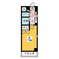 本山ブライトレジデンス[3階]の間取り