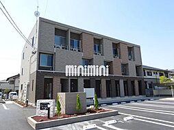 静岡県焼津市西小川5丁目の賃貸アパートの外観