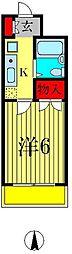 リーブル北小金[1階]の間取り
