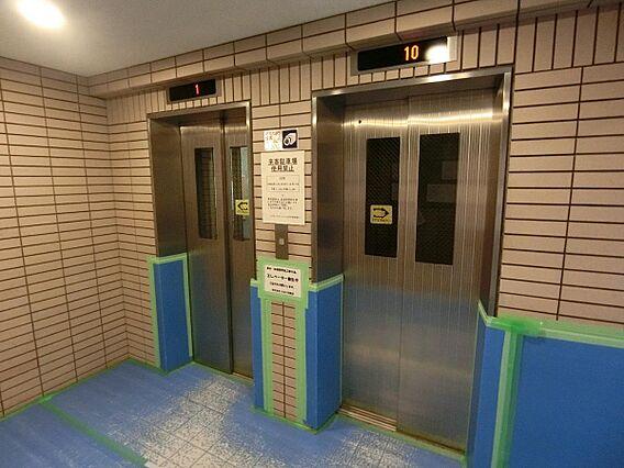 エレベーター完...