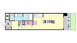 S−FORT神戸神楽町[5階]の間取り