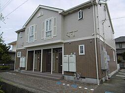 静岡県浜松市南区河輪町の賃貸アパートの外観