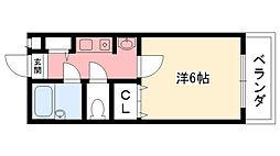 ステラハウス4-200[211号室]の間取り