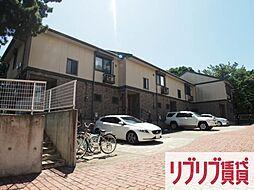 千葉県千葉市中央区汐見丘町の賃貸アパートの外観