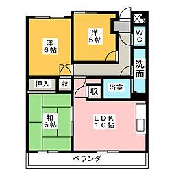 REFREX[1階]の間取り