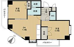 セピアタワー[3階]の間取り