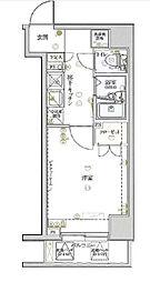 神奈川県横浜市南区前里町3の賃貸マンションの間取り