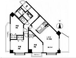 シャングリラII[4階]の間取り
