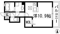 Manoir1 マノワール1[1階]の間取り