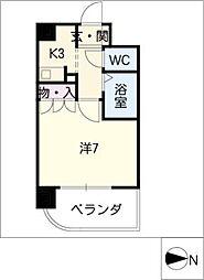 ビハーラ白壁[4階]の間取り