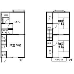 [テラスハウス] 神奈川県座間市入谷5丁目 の賃貸【/】の間取り