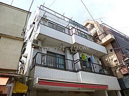 東京都北区田端4丁目の賃貸マンションの外観