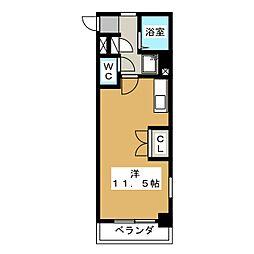 KMコート[1階]の間取り
