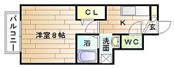 FunFun宗像[2階]の間取り