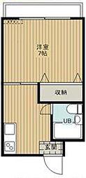 東京都板橋区小茂根5丁目の賃貸マンションの間取り
