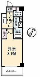 JRBハイツ湯田[A102号室]の間取り