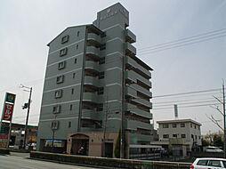 兵庫県姫路市飾磨区中野田1丁目の賃貸マンションの外観