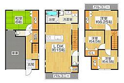 一戸建て(出戸駅から徒歩3分、111.50m²、3,490万円)