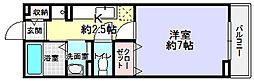 グランソレイユ楠葉2[2階]の間取り