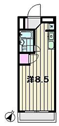 コンフィーコーポ[1階]の間取り