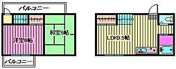 [テラスハウス] 埼玉県さいたま市南区曲本2丁目 の賃貸【/】の間取り