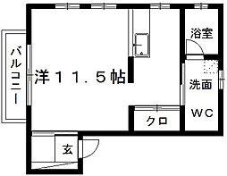 EAMES[2階]の間取り