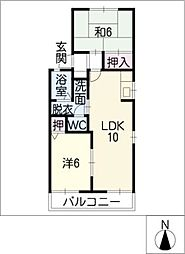 La LaHouse[2階]の間取り