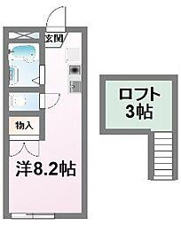 モンテクール清瀬[2階]の間取り
