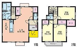 [一戸建] 神奈川県横浜市戸塚区舞岡町 の賃貸【/】の間取り