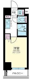 東京都新宿区砂土原町2丁目の賃貸マンションの間取り