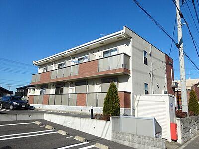 外観,1K,面積35.27m2,賃料5.1万円,つくばエクスプレス みらい平駅 徒歩13分,,茨城県つくばみらい市陽光台