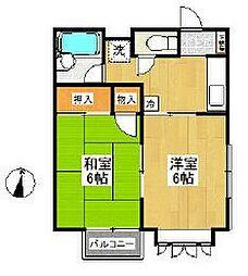 トレド原宿A[2階]の間取り