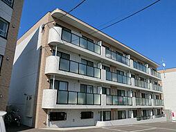 北海道札幌市豊平区西岡五条3丁目の賃貸マンションの外観