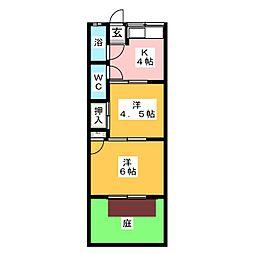 小碓松和荘[1階]の間取り