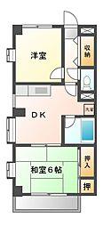 八千代台パーソナルハウスパート5[3階]の間取り