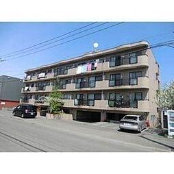 北海道札幌市豊平区西岡四条2丁目の賃貸マンションの外観
