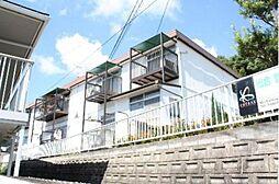 岡山県岡山市北区津島福居2丁目の賃貸アパートの外観