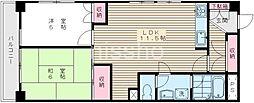 1316−グレイスヒルズ[306号室]の間取り