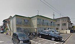 大阪府枚方市磯島茶屋町の賃貸アパートの外観
