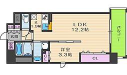 プリマクラッセ[12階]の間取り