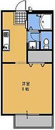 グランシャリオ[103号室号室]の間取り