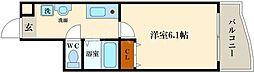 メゾンナカムラ北堀江[3階]の間取り