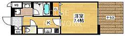 ベラジオ京都壬生ウエストゲート[203号室号室]の間取り